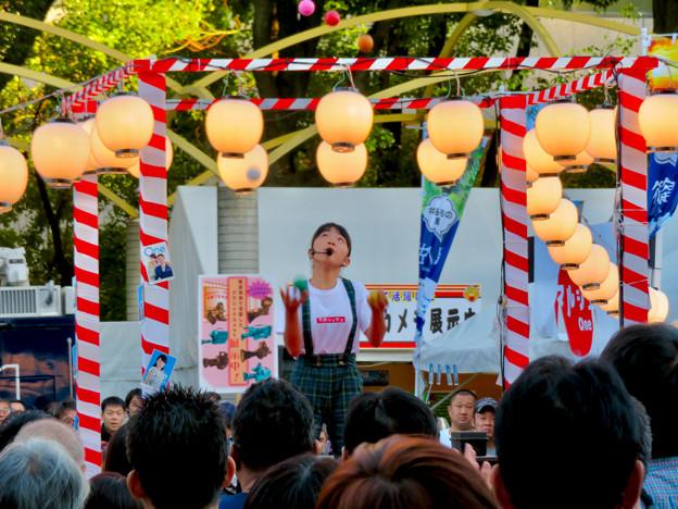 東海テレビ「ふるさとイッチー祭」2018 No - 3:高速お手玉を披露していた女の子