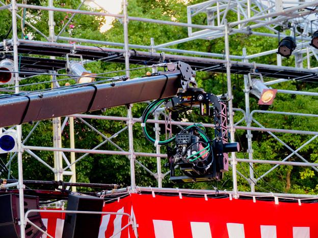 東海テレビ「ふるさとイッチー祭」2018 No - 16:巨大なカメラ用クレーン