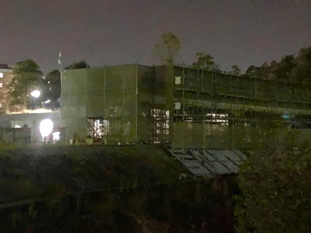 桃花台線の桃花台中央公園南側高架撤去工事(2018年11月7日) - 4
