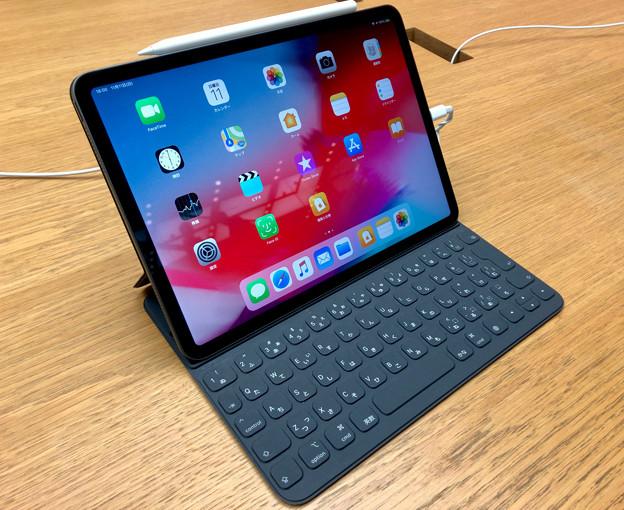 iPad Pro 11インチ 2018 No - 1:キーボードケース接続時