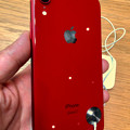 Photos: iPhone XR No - 2:(PRODUCT)REDモデル(背面)