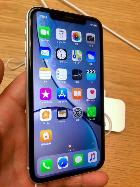 iPhone XR No - 3:ホワイトモデル