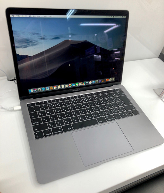 Macbook Air 2018 No - 5:スペースグレイモデル