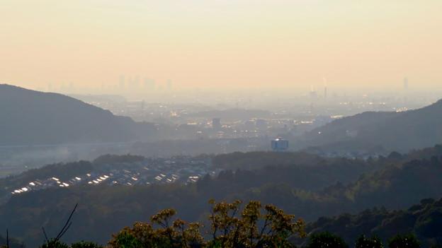 定光寺展望台から見た景色 - 2:名古屋方面