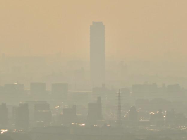 定光寺展望台から見た景色 - 6:ザ・シーン城北