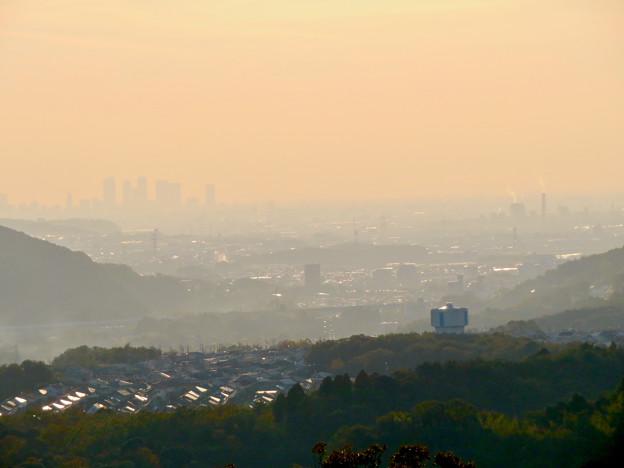 定光寺展望台から見た景色 - 15:名古屋方面