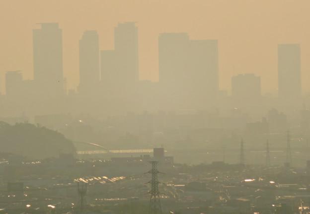 定光寺展望台から見た景色 - 17:名駅ビル群