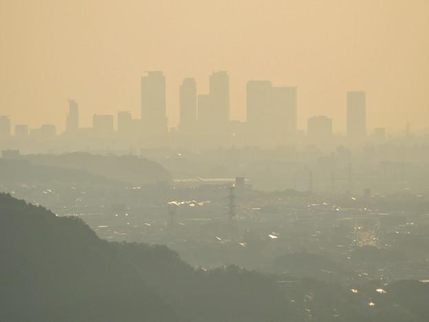 定光寺展望台から見た景色 - 24:名駅ビル群