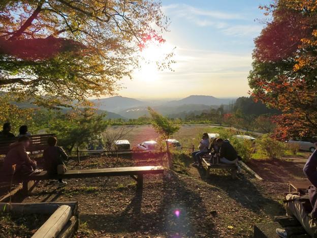 秋の定光寺 No - 21:展望台から見た景色