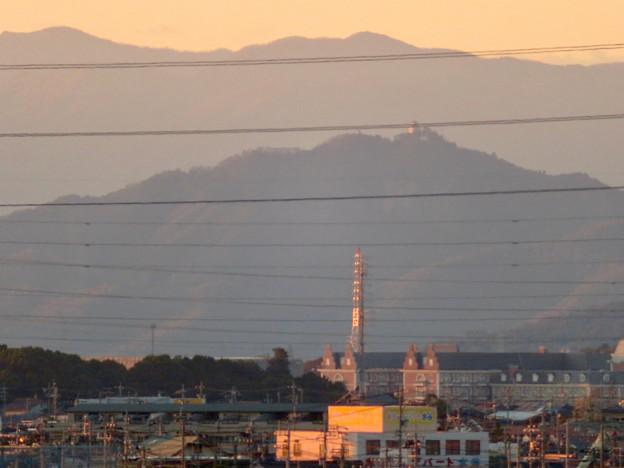 フレッシュパークの展望台から見えた岐阜城・金華山 - 5