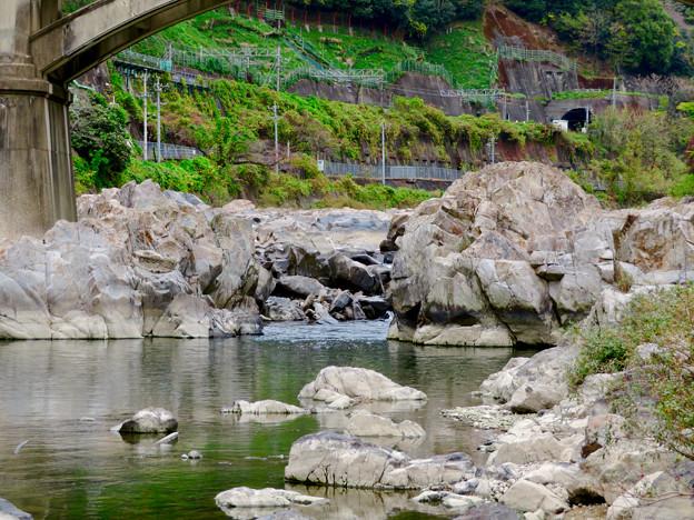 河川敷から見た庄内川(定光寺駅近く) - 3