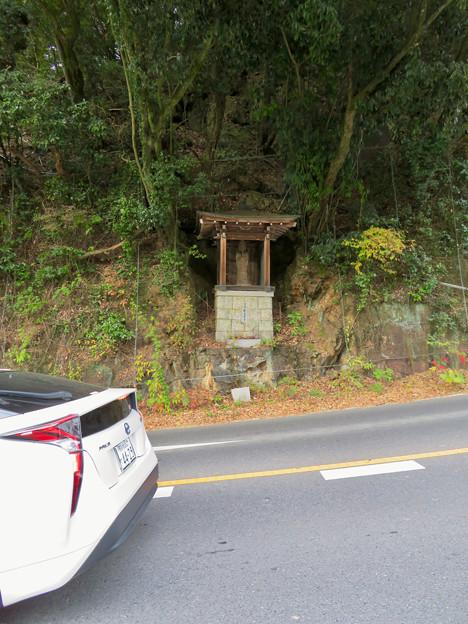 愛知県道205号沿いにある「慈道観音」 - 1