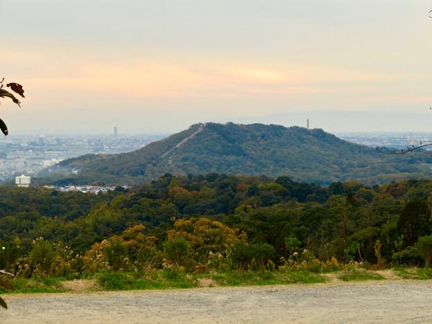 定光寺展望台から見た景色:自衛隊の訓練施設(?)がある高座山 - 4