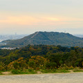 Photos: 定光寺展望台から見た景色:自衛隊の訓練施設(?)がある高座山 - 4