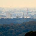 定光寺展望台から見た景色:中部大学の校舎 - 1