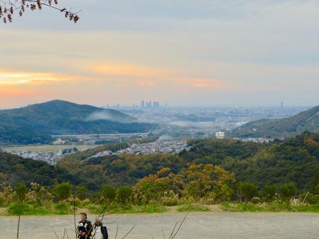 定光寺展望台から見た景色:名古屋市~春日井市方面 - 2