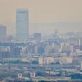 定光寺展望台から見た景色:名古屋城 - 5