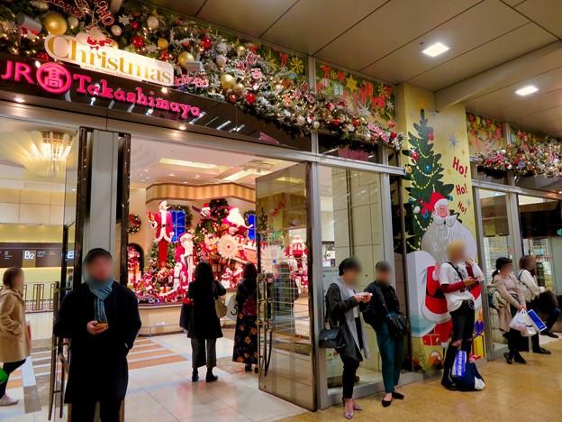 すっかりクリスマス一色になってたジェイアール名古屋タカシマヤ(2018年11月) - 2