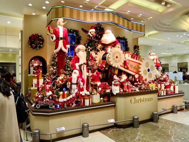すっかりクリスマス一色になってたジェイアール名古屋タカシマヤ(2018年11月) - 4