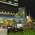 撤去予定の名古屋駅前のモニュメント「飛翔」 - 1