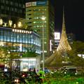 撤去予定の名古屋駅前のモニュメント「飛翔」 - 5