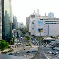 大名古屋ビルヂング5階「スカイガーデン」から見た景色 - 1:名駅通