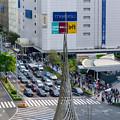 Photos: 大名古屋ビルヂング5階「スカイガーデン」から見た景色 - 4:名駅通