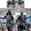 写真: 名古屋駅西口に桶狭間合戦場PRの織田信長像と今川義元像 - 9