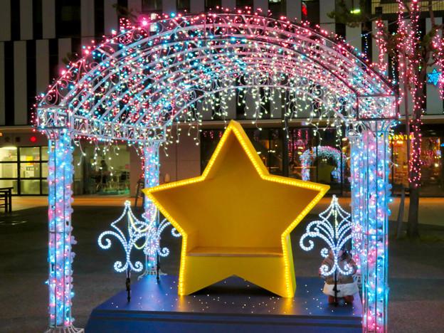 一宮駅周辺のクリスマスイルミネーション 2018 No - 5