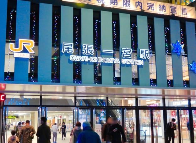 一宮駅周辺のクリスマスイルミネーション 2018 No - 18