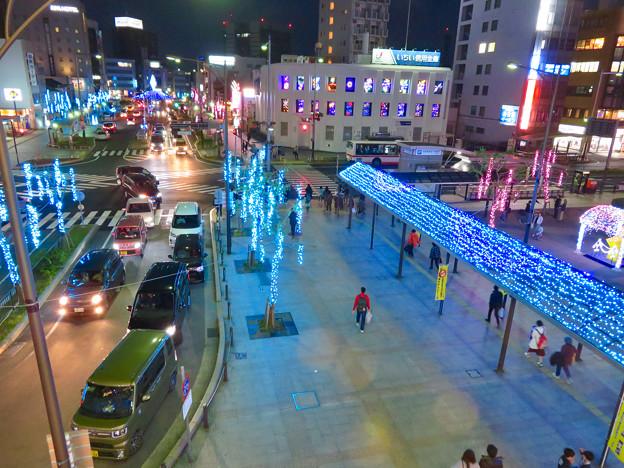 一宮駅周辺のクリスマスイルミネーション 2018 No - 19