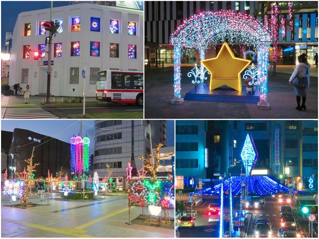 一宮駅周辺のクリスマスイルミネーション 2018 No - 24