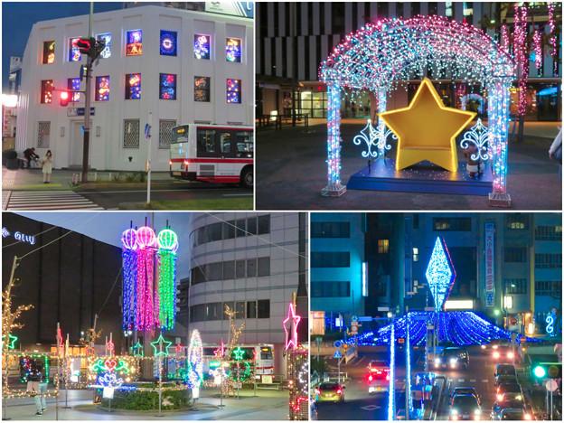 一宮駅周辺のクリスマスイルミネーション 2018 No - 25