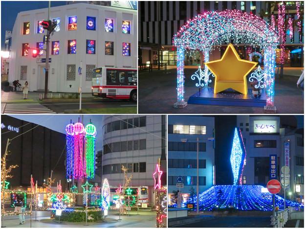 一宮駅周辺のクリスマスイルミネーション 2018 No - 26