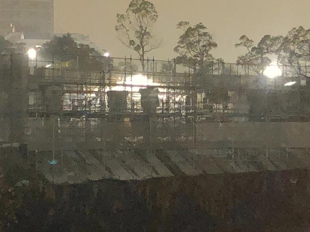 桃花台線の桃花台中央公園南側高架撤去工事(2018年12月4日) - 3