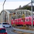 犬山橋 - 2:各務原方面へと向かう列車