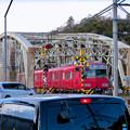 犬山橋 - 3:各務原方面へと向かう列車