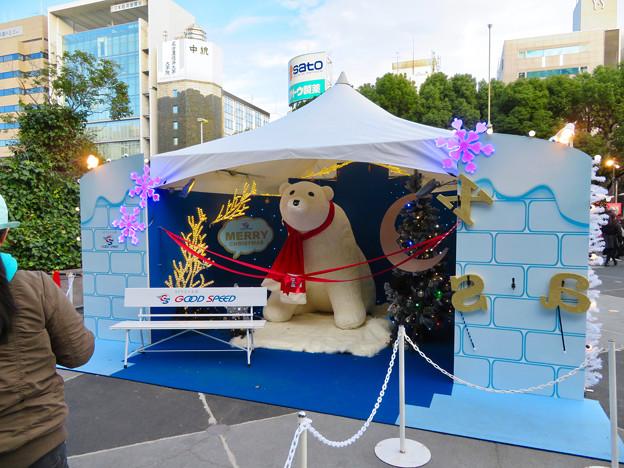 名古屋クリスマスマーケット 2018 No - 1:入り口付近に大きなシロクマ!?