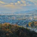寂光院の展望台から見た景色 - 2:岐阜方面
