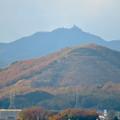 寂光院の展望台から見た景色 - 4:金華山と岐阜城