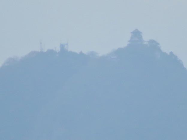 寂光院の展望台から見た景色 - 5:岐阜城