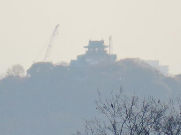 寂光院の展望台から見た景色 - 23:小牧城