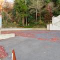 初冬の寂光院(2018年12月8日) - 14:バス専用の駐車場