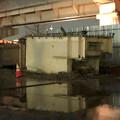 桃花台線の桃花台東駅周辺撤去工事(2018年12月11日):片側高架が下ろされる - 14