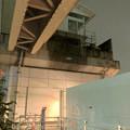 桃花台線の桃花台東駅周辺撤去工事(2018年12月11日):片側高架が下ろされる - 16
