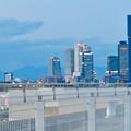 ららぽーと名古屋みなとアクルス駐車場から見た景色 - 13:名駅ビル群