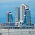 ららぽーと名古屋みなとアクルス駐車場から見た景色 - 14:名駅ビル群