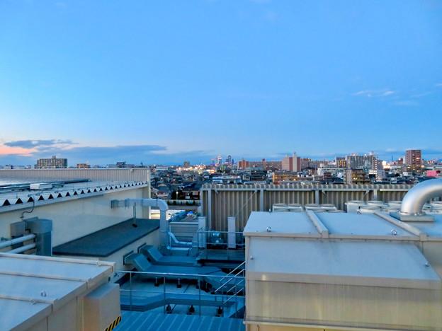 ららぽーと名古屋みなとアクルス駐車場から見た景色 - 15:名古屋市中心部方面