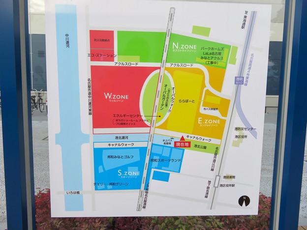 ららぽーと名古屋みなとアクルス周辺地図