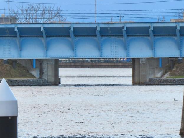 ららぽーと名古屋みなとアクルス前乗船場前から中川運河へと通じる水路 - 2